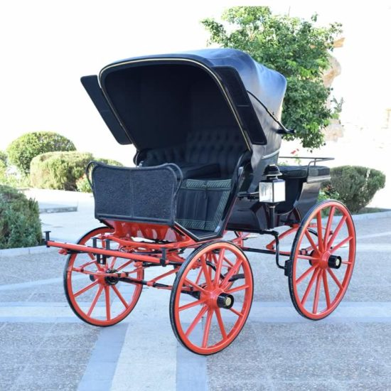 Restoration Presentation Phaeton carriage
