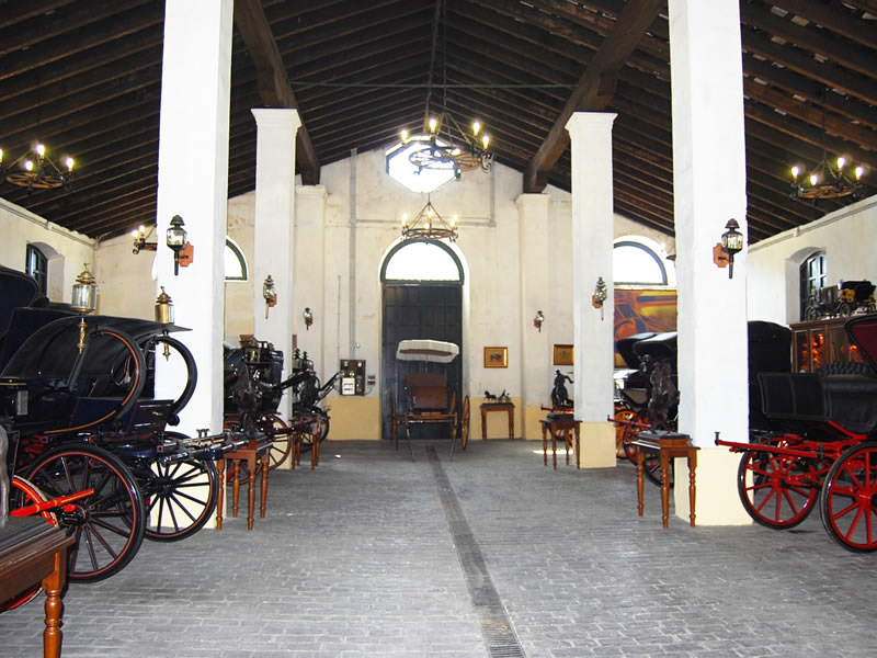 Conservación y mantenimiento de carruajes históricos