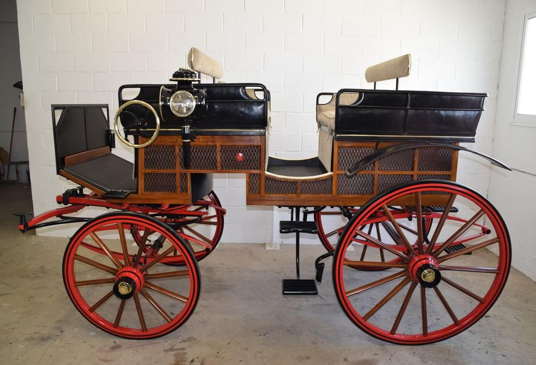 Restauración carruaje Break Húngaro