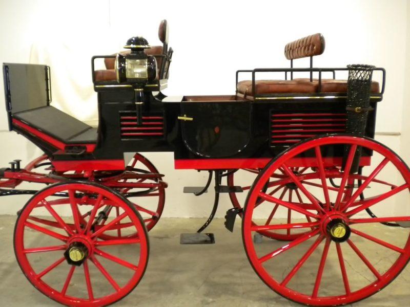 Restoration Velvallette Break carriage