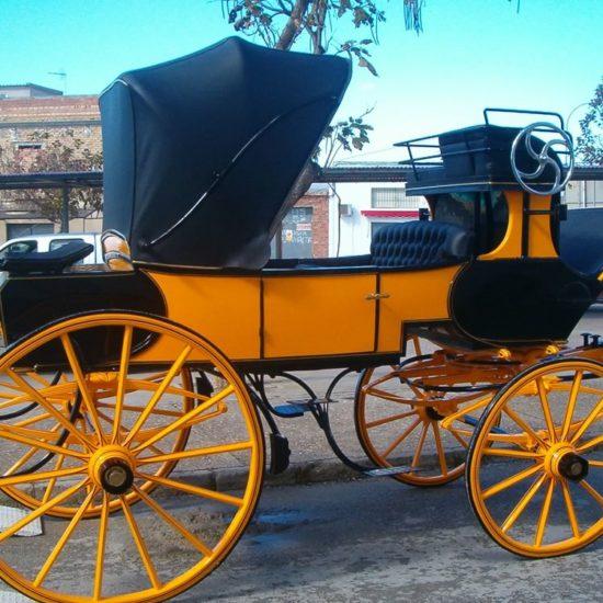 Restauración carruaje Briska Binder
