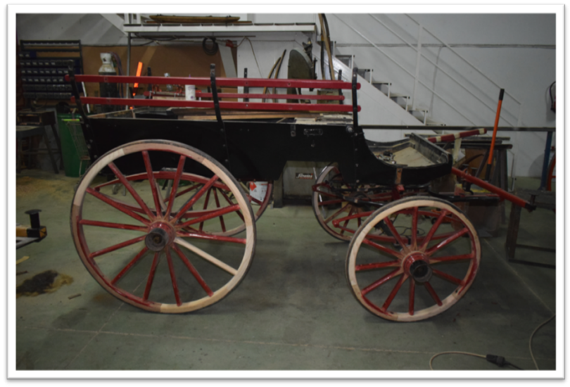 Restoration Wagonette with canopy 3
