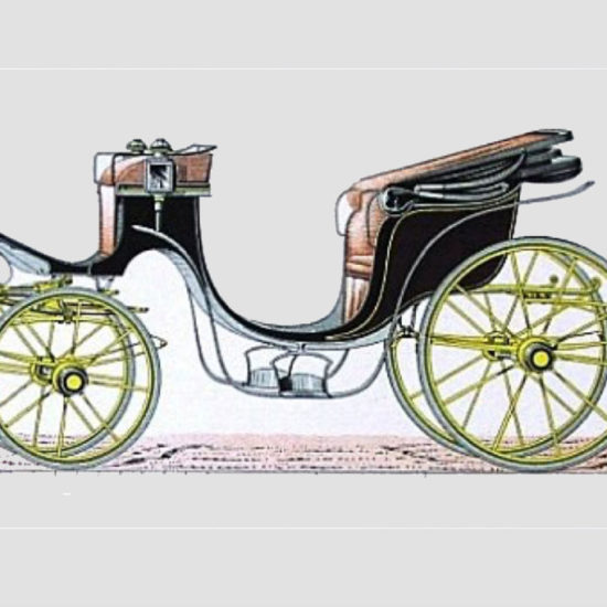 Historic carriage draw