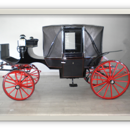 Restoration landau carriage