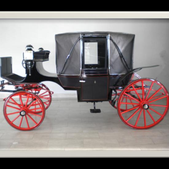 Restauración carruaje landau