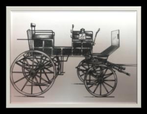 Restoration Break Bervallette carriage (12-2018) ~ Carruajes